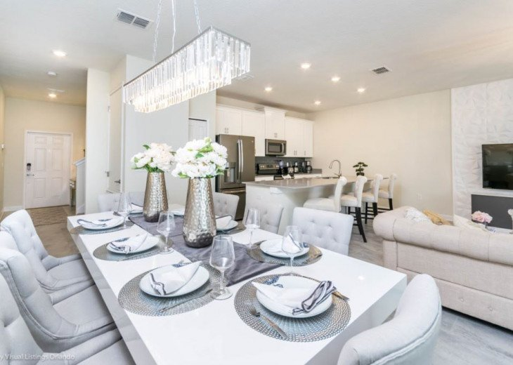 Beautiful 4BD 3BA Town Home Champions Gate. Private Pool. Very Affordable Luxury #7