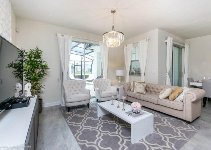 Beautiful 4BD 3BA Town Home Champions Gate. Private Pool. Very Affordable Luxury #4