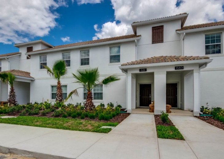 Beautiful 4BD 3BA Town Home Champions Gate. Private Pool. Very Affordable Luxury #26