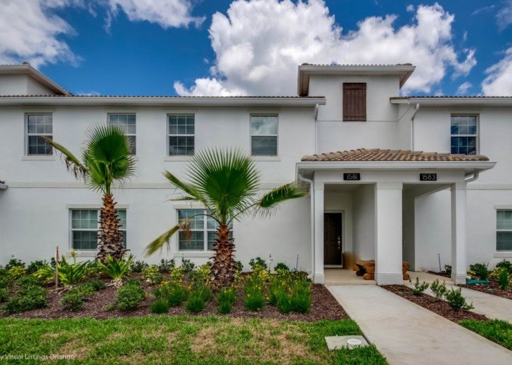 Beautiful 4BD 3BA Town Home Champions Gate. Private Pool. Very Affordable Luxury #2