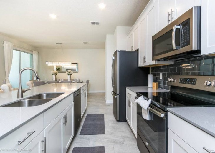 Beautiful 4BD 3BA Town Home Champions Gate. Private Pool. Very Affordable Luxury #8