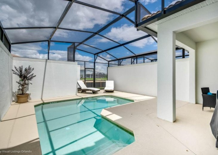 Beautiful 4BD 3BA Town Home Champions Gate. Private Pool. Very Affordable Luxury #29