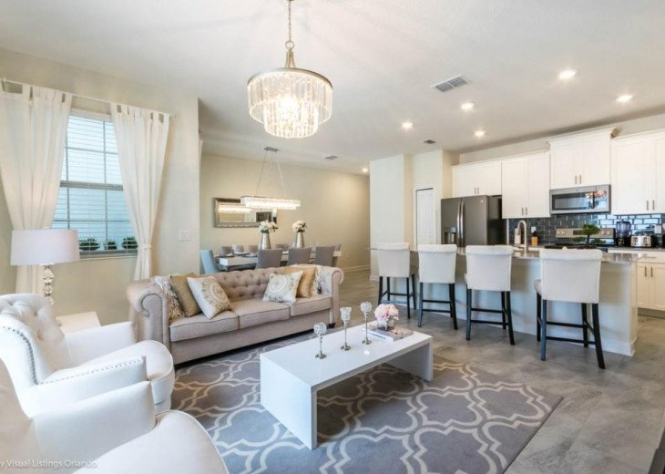 Beautiful 4BD 3BA Town Home Champions Gate. Private Pool. Very Affordable Luxury #5