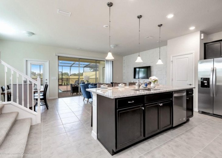 Stunning Affordable 5BD 5BA Town Home Solterra. Private Pool Star Wars TV Loft. #8