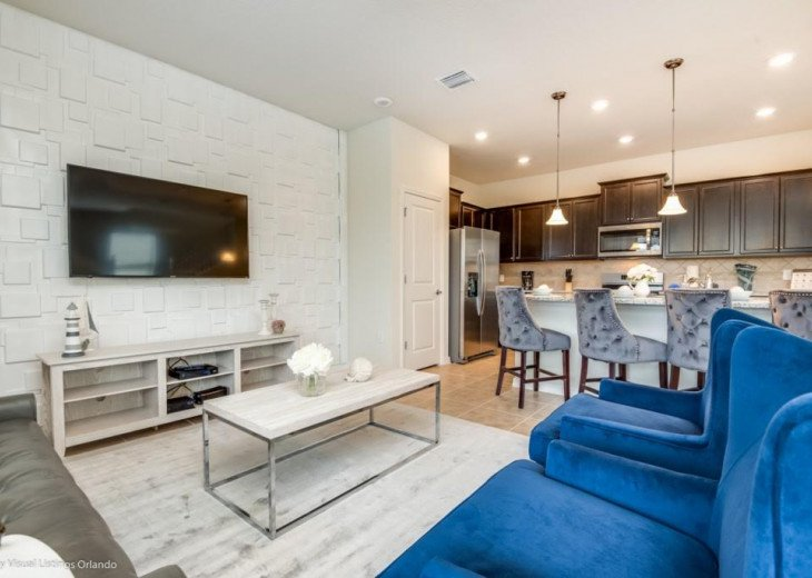 Stunning Affordable 5BD 5BA Town Home Solterra. Private Pool Star Wars TV Loft. #5