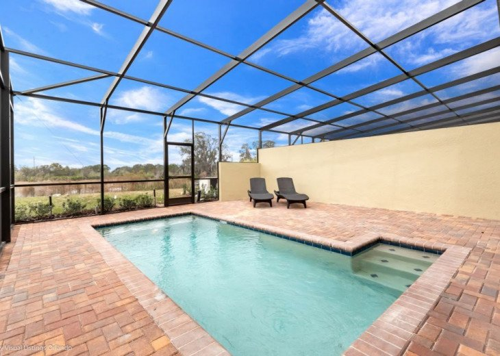 Stunning Affordable 5BD 5BA Town Home Solterra. Private Pool Star Wars TV Loft. #38