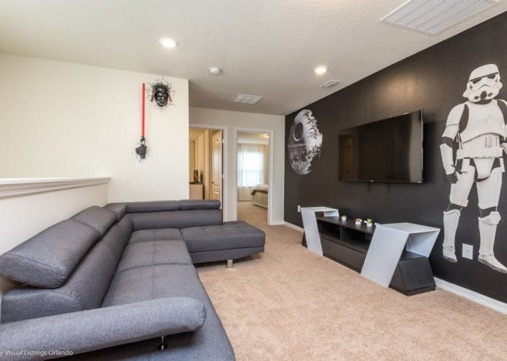 Stunning Affordable 5BD 5BA Town Home Solterra. Private Pool Star Wars TV Loft. #20