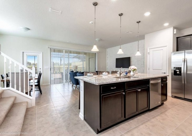 Stunning Affordable 5BD 5BA Town Home Solterra. Private Pool Star Wars TV Loft. #7