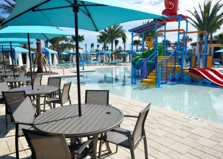 Modern 5BD 4BA Windsor at Westside Private Pool & Spa Games Room #42