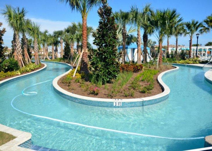 Modern 5BD 4BA Windsor at Westside Private Pool & Spa Games Room #45