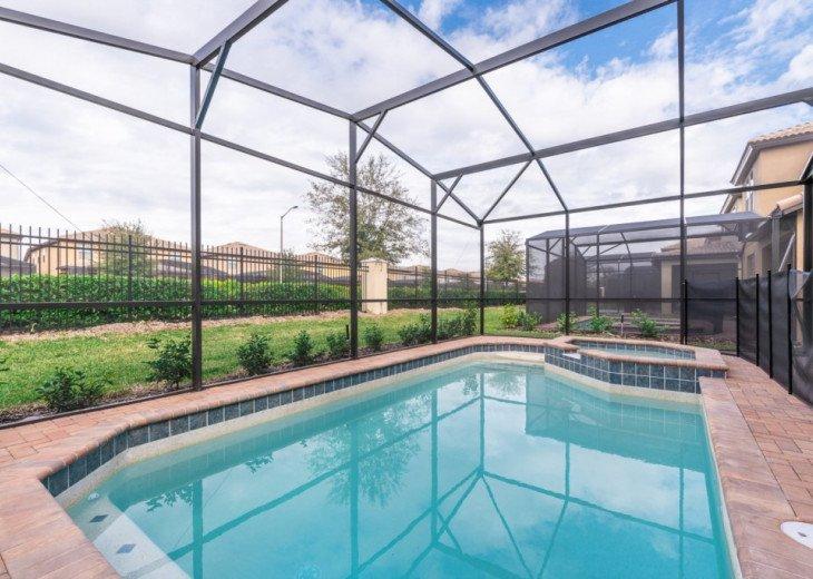 Modern 5BD 4BA Windsor at Westside Private Pool & Spa Games Room #38