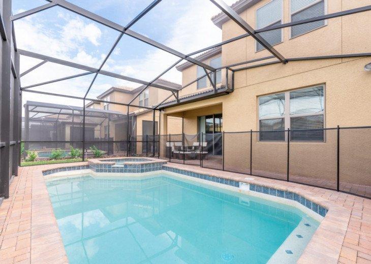 Modern 5BD 4BA Windsor at Westside Private Pool & Spa Games Room #40