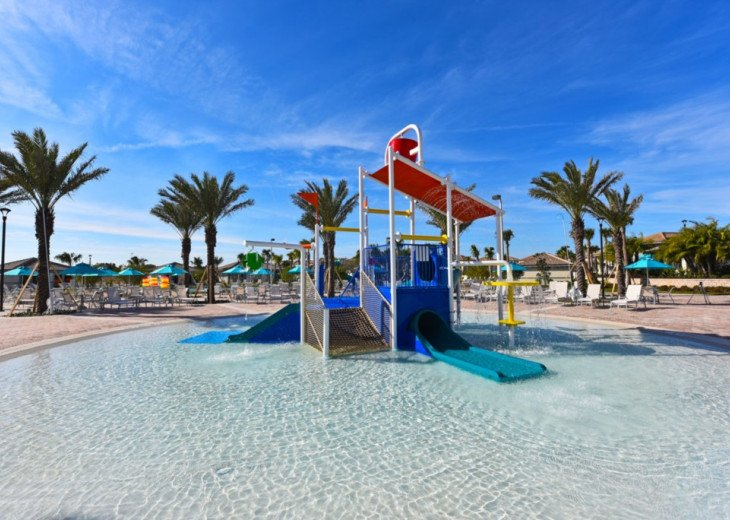 Modern 4BD 3BA Town Home Sleeps 10. Pool. Lazy River, Bar, Restaurant Resort! #28