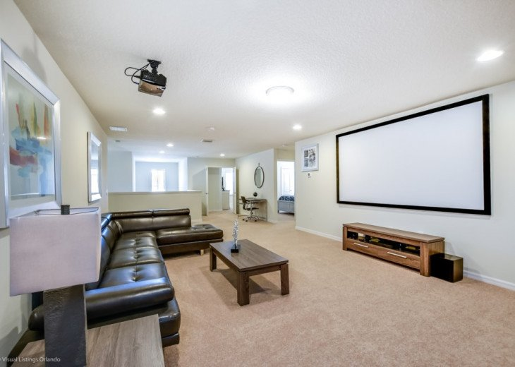 Beautiful 8BD 5BA Windsor at Westside. Private Pool/Spa. Games Room. Cinema Loft #23