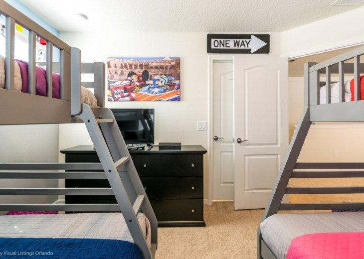 Modern 5BD 5BA Windsor at Westside Sleeps 14 Pool/Spa Games Room TV Loft #29