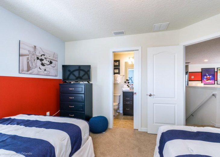 Modern 5BD 5BA Windsor at Westside Sleeps 14 Pool/Spa Games Room TV Loft #34