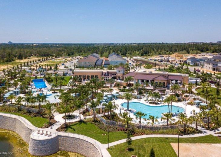 Modern 6BD 5BA Pool and Spa Free use of Solara Resort Facilities #48