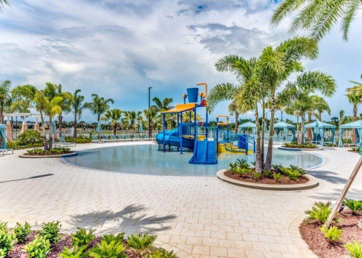 Modern 6BD 5BA Pool and Spa Free use of Solara Resort Facilities #44