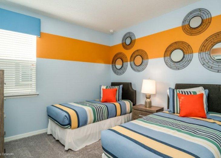 Modern 6BD 5BA Pool and Spa Free use of Solara Resort Facilities #21