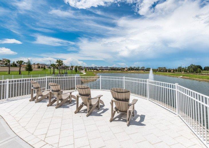 Modern 6BD 5BA Pool and Spa Free use of Solara Resort Facilities #54