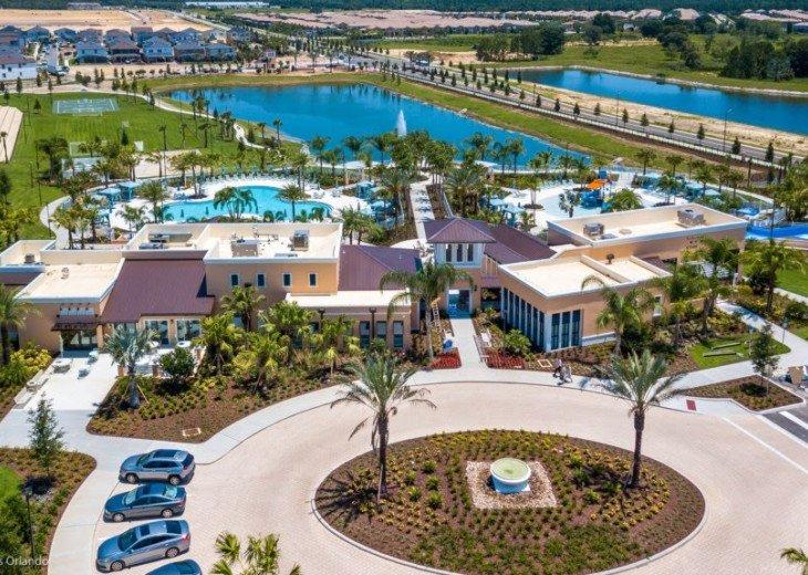 Modern 6BD 5BA Pool and Spa Free use of Solara Resort Facilities #42