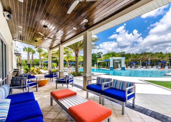 Modern 10BD 8BA Sonoma. Pool/Spa. Cinema Room. Free use of Resort Facilities. #65