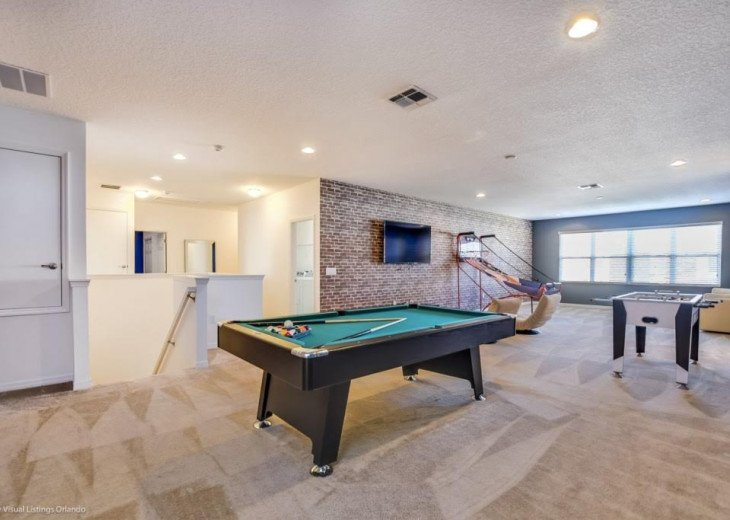 Spacious 14BD 11BA. Private Pool/Spa. Game Room. Free use Resort Facilities. #16