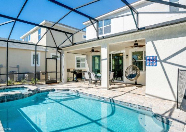 Designer 4BD 3.5BA Solara Pool/Spa Games Room Free use of Resort Facilities #24