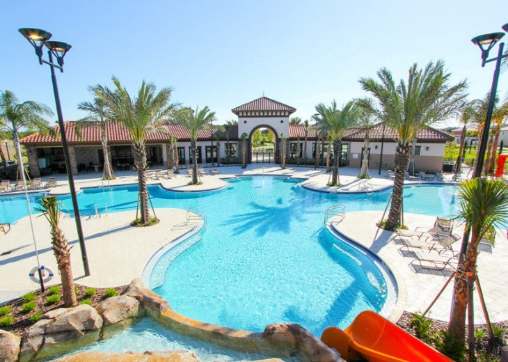 Wonderful 9BD 7BA Pool/Spa Games Room Free use of Solterra Resort Facilities #47