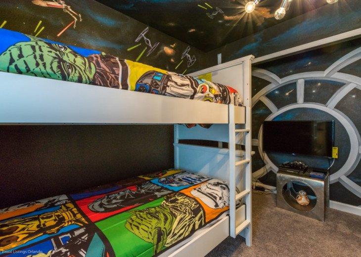 Star Wars! 6BD 5BA Sleeps 16 Pool Spa. Games Room. Free use Resort Facilities! #1