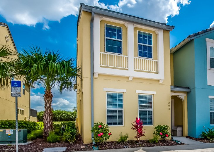 Fantastic 5BD 4BA Town Home Private Pool Free use of Festival Resort Facilities. #40