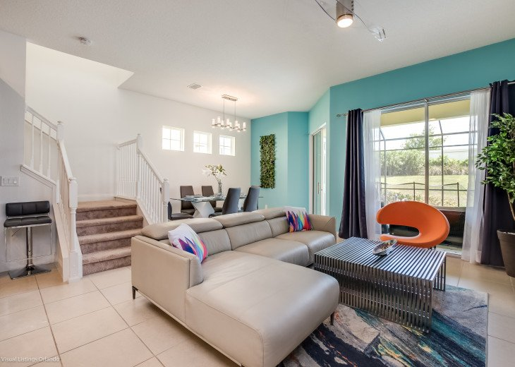 Fantastic 5BD 4BA Town Home Private Pool Free use of Festival Resort Facilities. #8