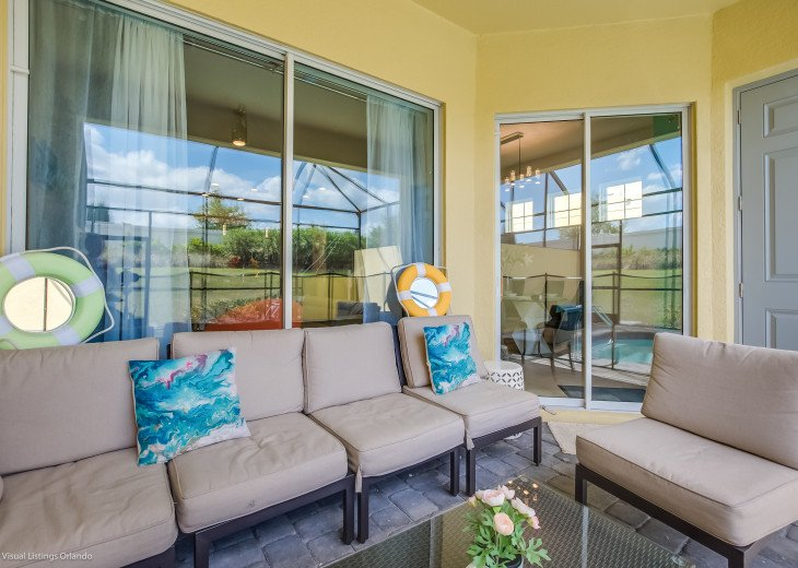 Fantastic 5BD 4BA Town Home Private Pool Free use of Festival Resort Facilities. #34