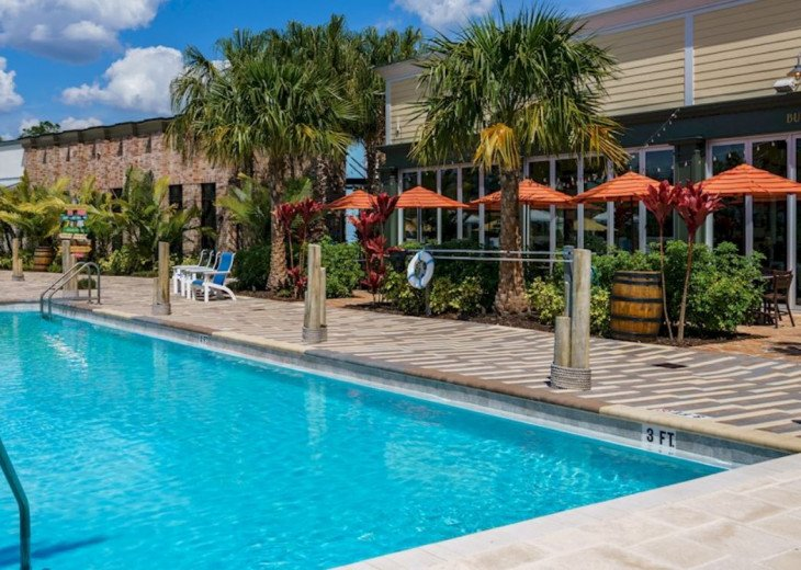 Fantastic 5BD 4BA Town Home Private Pool Free use of Festival Resort Facilities. #59
