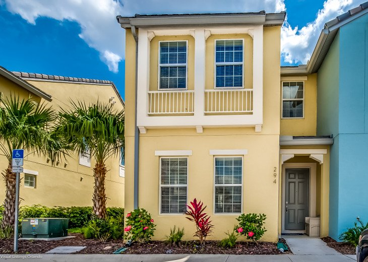 Fantastic 5BD 4BA Town Home Private Pool Free use of Festival Resort Facilities. #2
