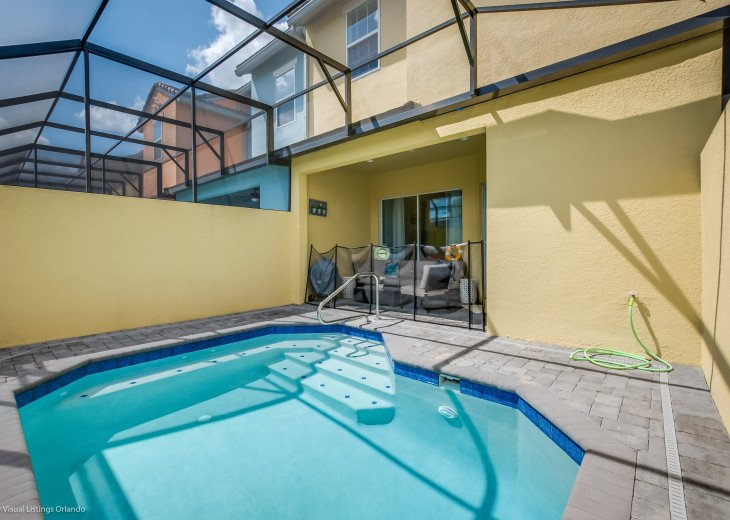 Fantastic 5BD 4BA Town Home Private Pool Free use of Festival Resort Facilities. #38