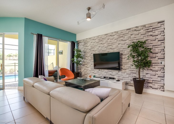 Fantastic 5BD 4BA Town Home Private Pool Free use of Festival Resort Facilities. #1