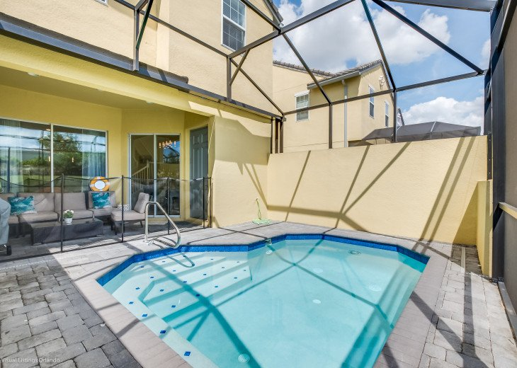 Fantastic 5BD 4BA Town Home Private Pool Free use of Festival Resort Facilities. #37