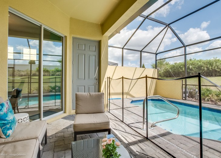 Fantastic 5BD 4BA Town Home Private Pool Free use of Festival Resort Facilities. #35
