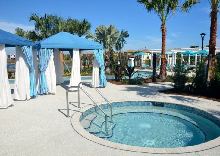 Fantastic 5BD 4BA Private pool/spa PLUS Windsor at Westside Resort Facilities! #52