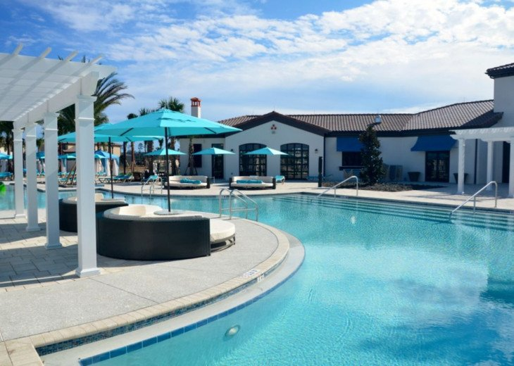 Fantastic 5BD 4BA Private pool/spa PLUS Windsor at Westside Resort Facilities! #45