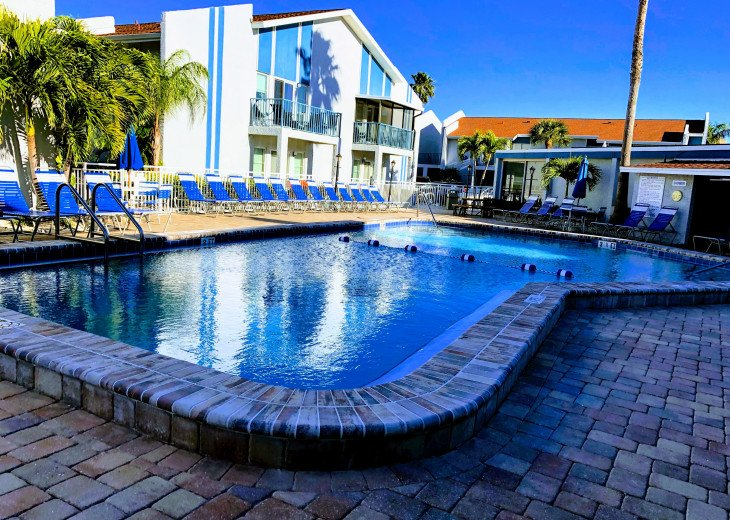 Two Heated Pools! Clearwater/ St. Pete Area Bargain! #63