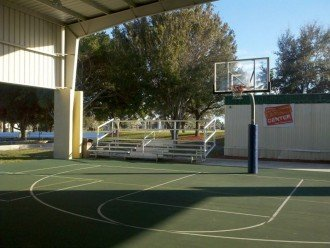Basketball Court At Mackle Park