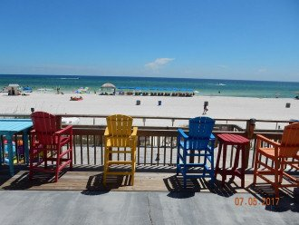 Directly on the Beach, Half Mile Walk to Pier Park #1