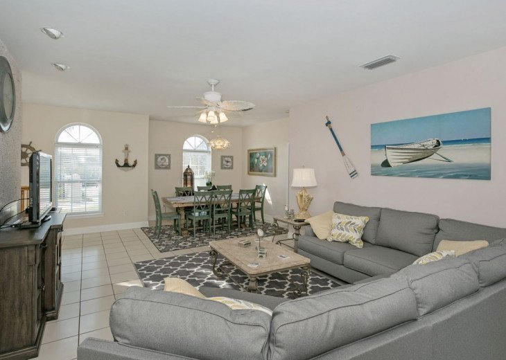 Great beach house, room for 10, ping pong table, sun room, easy access to beach! #2