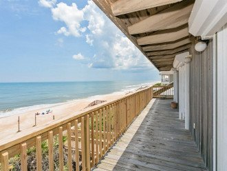 Direct oceanfront beach house. Casual comfort that makes you feel right at home. #1