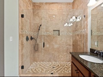 1st floor master bathroom shower