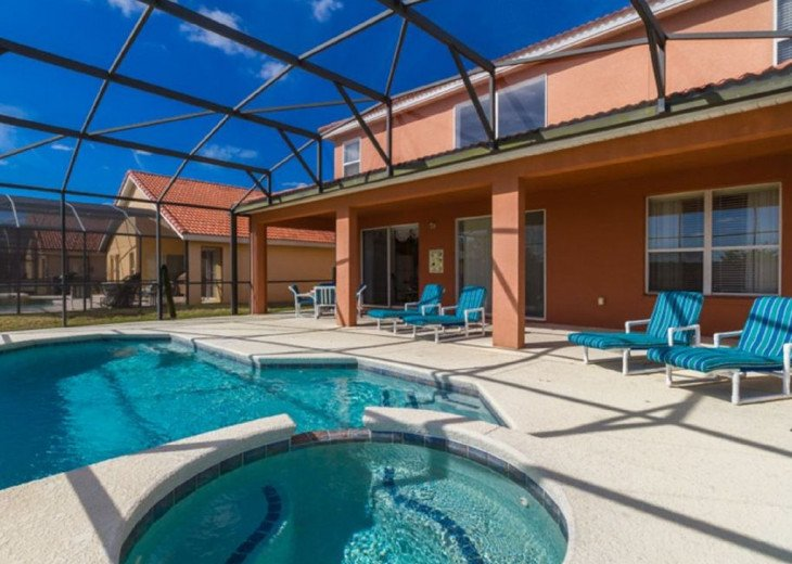 6BR/4Master/5.5Bath/South-facing pool/Lanai/WiFi/Game/Disney #4