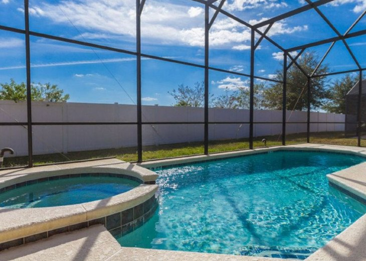 6BR/4Master/5.5Bath/South-facing pool/Lanai/WiFi/Game/Disney #3