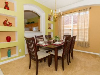 6BR/4Master/5.5Bath/South-facing pool/Lanai/WiFi/Game/Disney #1
